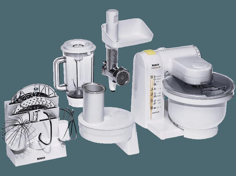 Bedienungsanleitung BOSCH MUM 4655 Profimixx 4 Küchenmaschine Weiß ...