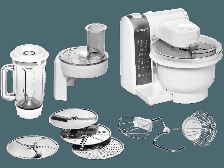 Bedienungsanleitung Bosch Mum 48020 Kuchenmaschine Weiss Schwarz 600
