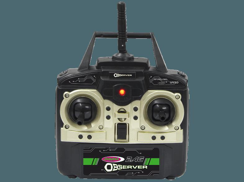 JAMARA 038551 Observer AHP Quadrocopter Drohne mit Video Kamera und Kompass Elektrisches Spielzeug