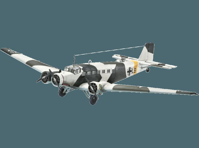 bedienungsanleitung revell 64843 junkers ju52 3m. Black Bedroom Furniture Sets. Home Design Ideas