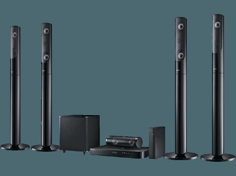 bedienungsanleitung samsung ht j5550w 5 1 heimkino system 5x lautsprecher subwoofer. Black Bedroom Furniture Sets. Home Design Ideas