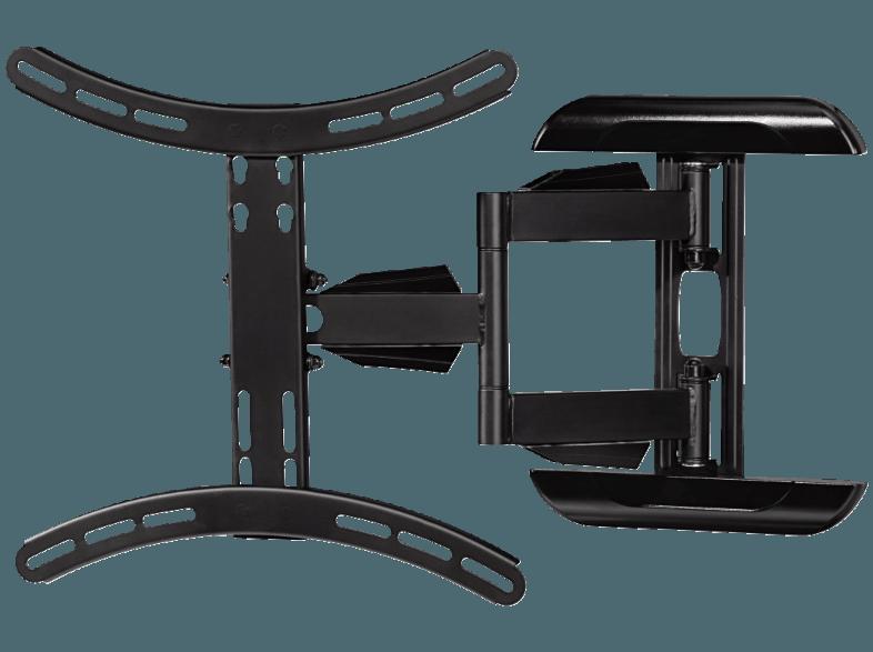bedienungsanleitung hama 118619 tv wandhalterung fullmotion 1 stern xl 142 cm 56 schwarz. Black Bedroom Furniture Sets. Home Design Ideas
