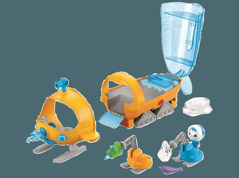 FISHER PRICE DHJ11 Guppy-S Polarforschungsschif Gelb, Blau