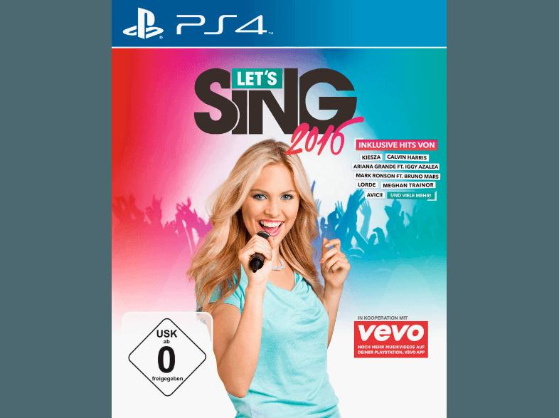 Let's Sing 2016 [PlayStation 4]