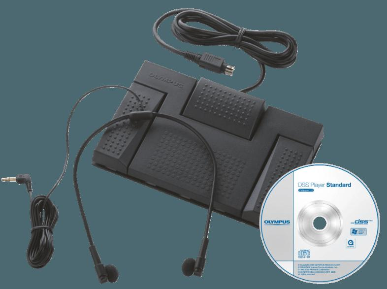 OLYMPUS DS 2500   AS 2400 OFFICE STARTER KIT