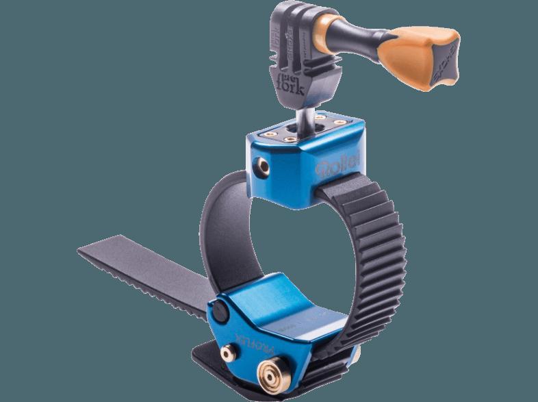 Bedienungsanleitung Rollei Actioncam Halterung Proflex Blau