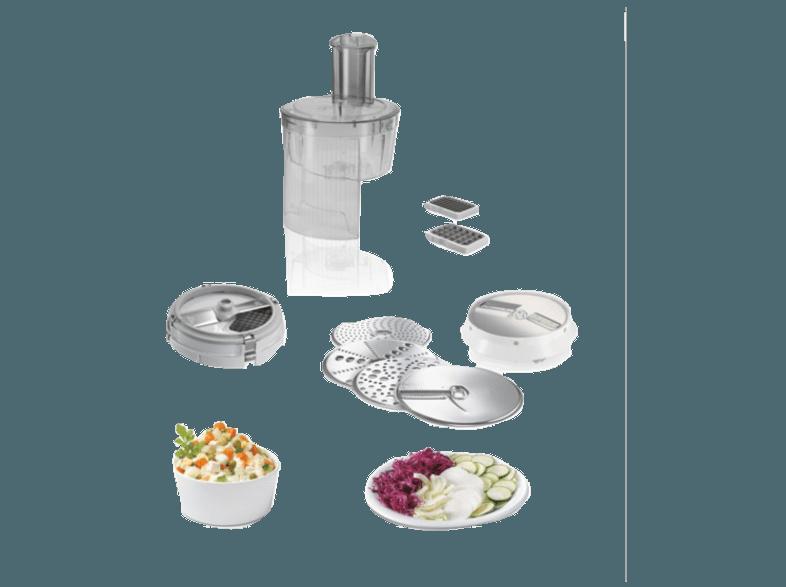 Bedienungsanleitung Bosch Mum 54270 De Kuchenmaschine Weiss Silber