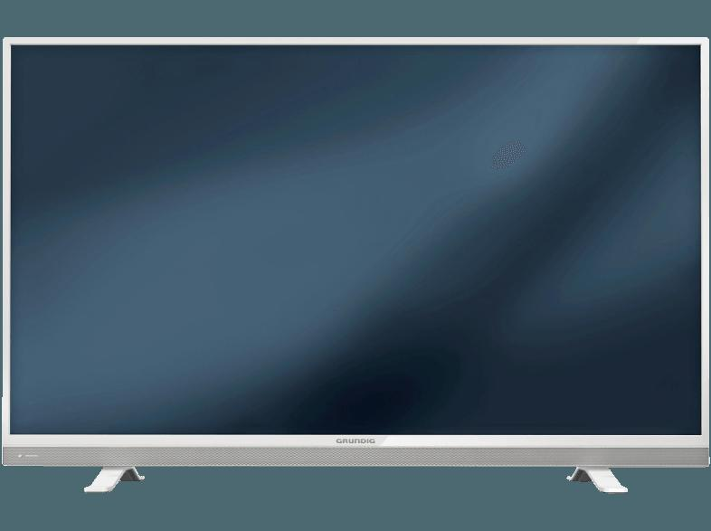 GRUNDIG 49 VLE 8510 WL LED TV (Flat, 49 Zoll, Full-HD, SMART TV)
