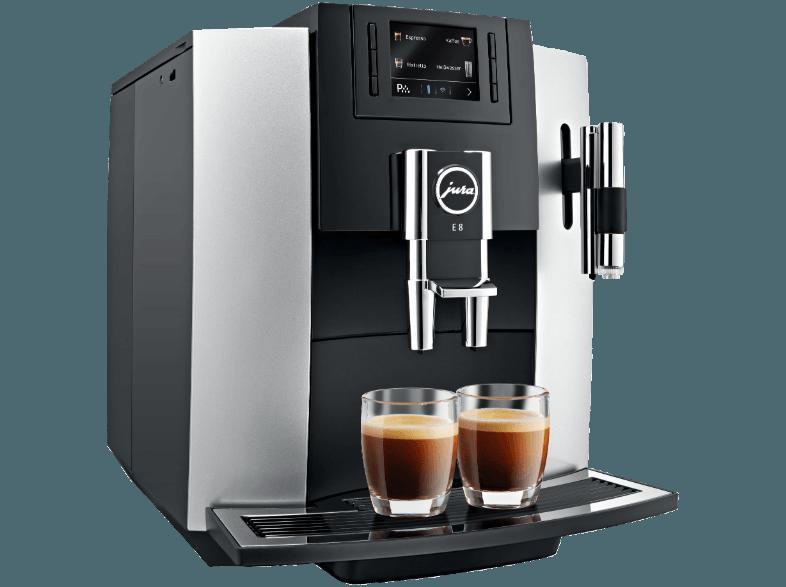 Bekannt Bedienungsanleitung JURA 15084 E8 One-Touch-Cappuccino Vollautomat CJ23