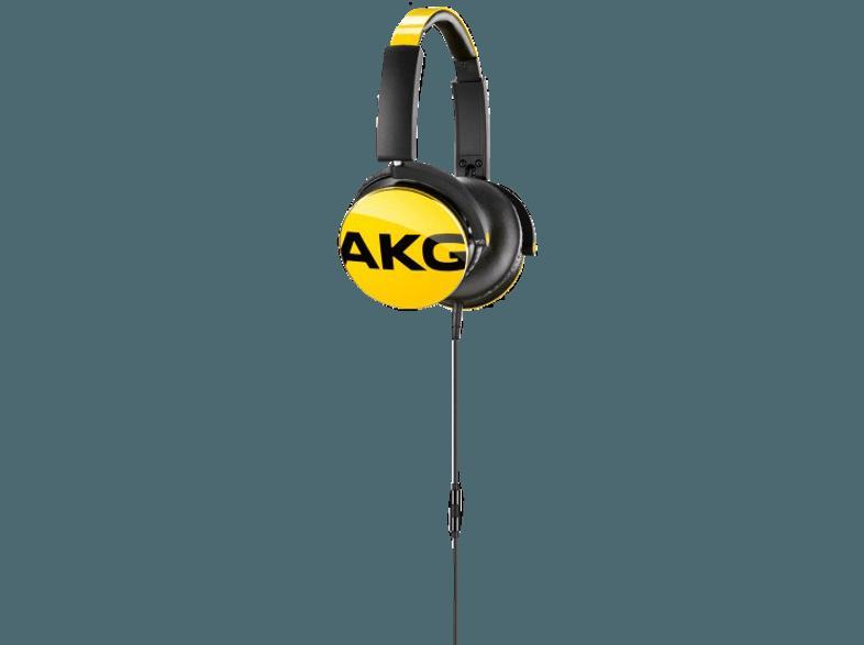 Bedienungsanleitung AKG Y50 Kopfhörer Gelb   Bedienungsanleitung
