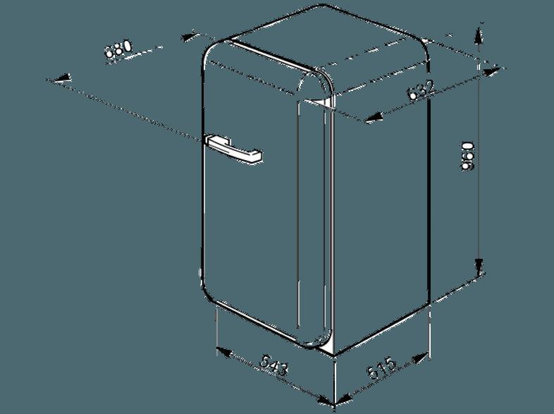 Smeg Kühlschrank Handbuch : Bedienungsanleitung smeg fab 10 hrp kühlschrank 123 kwh jahr a