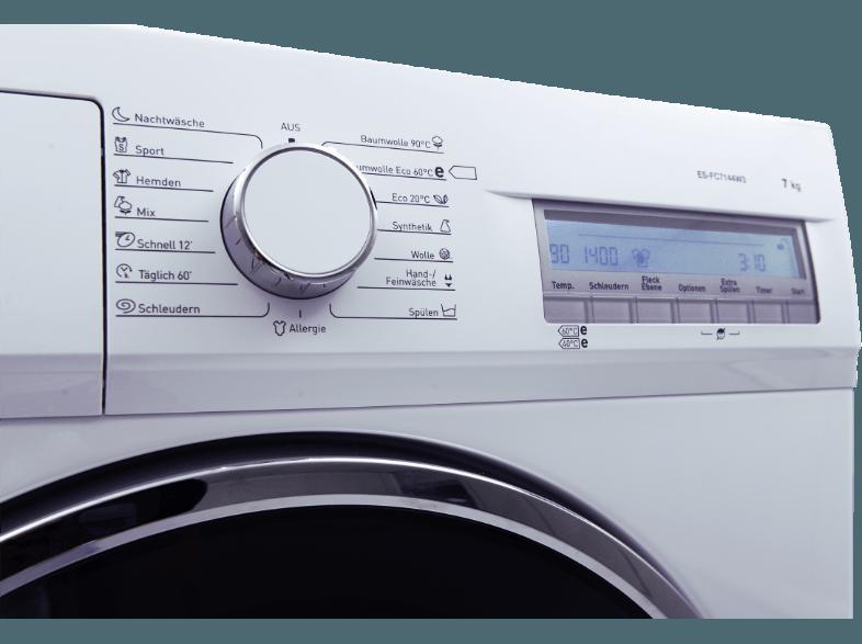 SHARP ES FC 7144 W3 DE Waschmaschine 7 Kg 1400 U