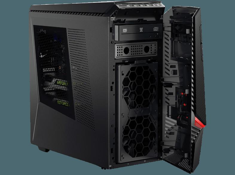 LENOVO ideacentre Y900 Desktop PC (Intel i7-6700, 3.4 GHz, 120 GB, 2 TB, 8 GB SSD, SSHD)