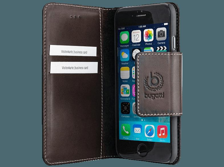 bedienungsanleitung bugatti bugatti bookcover amsterdam f r apple iphone 6 6s braun. Black Bedroom Furniture Sets. Home Design Ideas