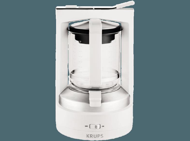 bedienungsanleitung krups km 4682 druckbr h automat wei glaskanne druckbr hsystem f r. Black Bedroom Furniture Sets. Home Design Ideas