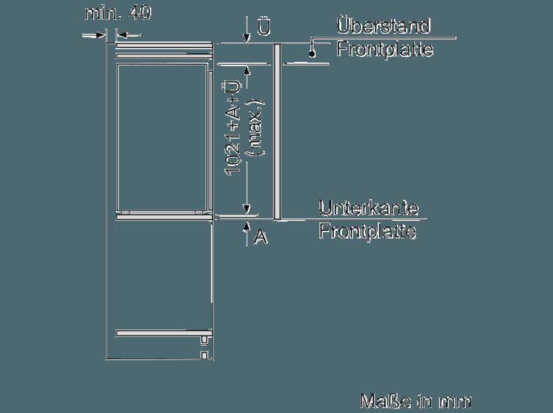 bedienungsanleitung neff ki1313f30 k hlschrank 100 kwh jahr a 1021 mm hoch wei. Black Bedroom Furniture Sets. Home Design Ideas