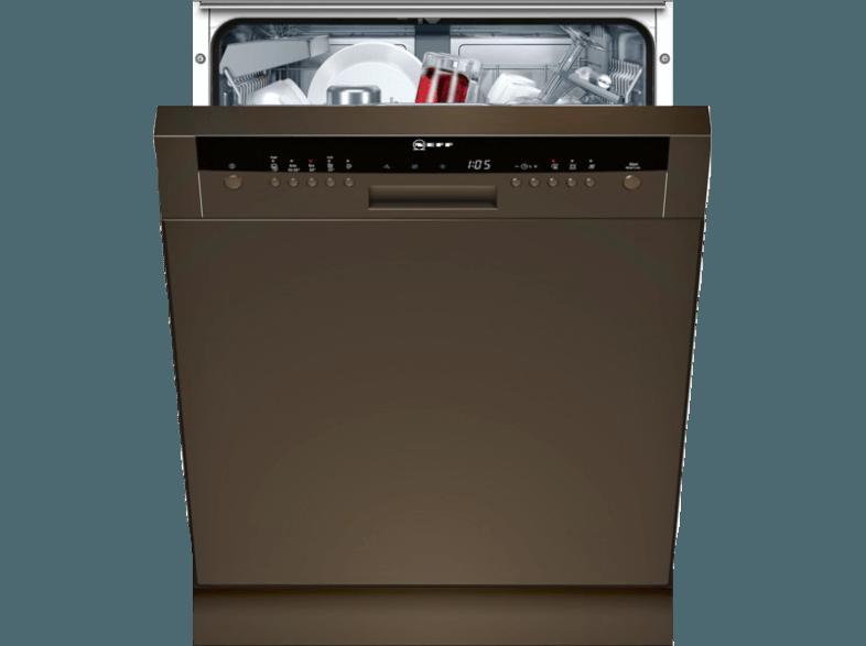 bedienungsanleitung neff s41n53b7eu geschirrsp ler a 598 mm breit 44 db a braun. Black Bedroom Furniture Sets. Home Design Ideas