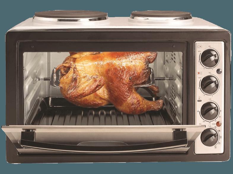 bedienungsanleitung silva homeline kk-2800 (kleinküche mit umluft