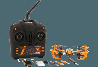 ACME ZQ0155 Roonin Quadrocopter Schwarz/Orange