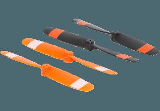 ACME ZQ0165-C Ersatzpropeller Set Schwarz, Orange