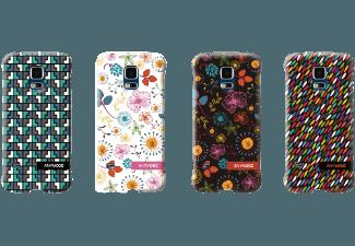 ANYMODE ANY-FABP010KA3 Back Case Hard Case Hartschale Galaxy S5 mini