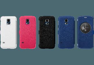 ANYMODE ANY-FADY002KBL Flip Case Circle View Case Klapptasche Galaxy S5 mini