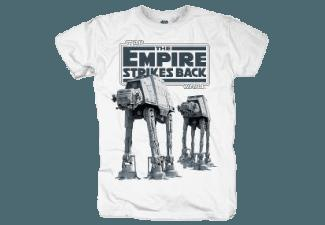 At-At, Shirt, Gr L, Weiß