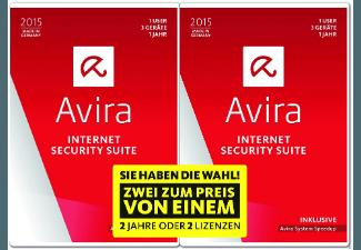 Avira Internet Security Suite 2015 - 1 und 1 Special Edition