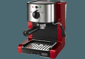 BEEM D2000.615 Espresso Perfect Crema Plus Espressomaschine (, 1.5 Liter, Brilliantrot)