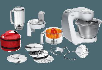 Bedienungsanleitung BOSCH MUM 54W41 Küchenmaschine Weiß 900 ...