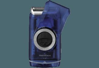 BRAUN M 60 B Pocket Herrenrasierer Transparent/Blau (Smart Foil Technologie)
