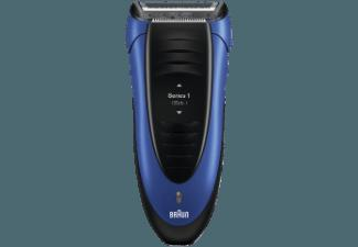 BRAUN Series 1 - 190s Herrenrasierer Blau (Smart Foil Technologie)