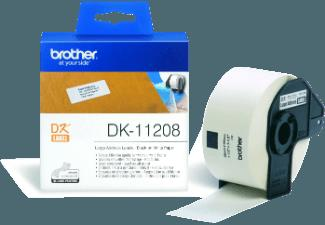BROTHER DK-11208, Adress-Etiketten (38x90 mm) Einzel-Etiketten