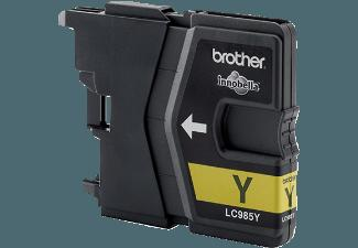 BROTHER LC 985 Y Tintenkartusche Yellow