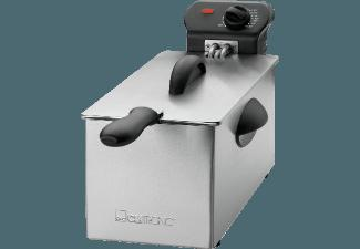 CLATRONIC FR 3586 Fritteuse Inox (850 g, 2 kW)