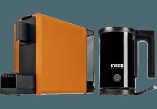 CREMESSO Cremesso Compact One inkl. LM-600 Kapselmaschine Orange