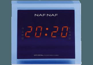 CRYSTAL NafNaf  (PLL Tuner, Digital Radio, AM, FM, Blau)