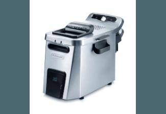 DELONGHI F 34532 Fritteuse Silber (1600 g, 3.2 kW)
