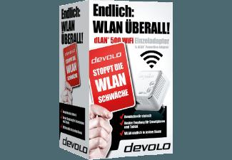 DEVOLO 9076 dLAN® 500 WiFi Powerline HomePlug-Modem mit integriertem Access-Point