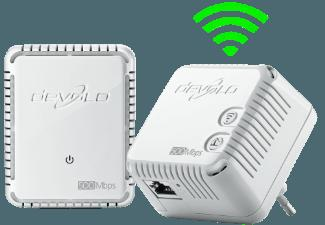 DEVOLO 9083 dLAN® 500 WiFi Starter Kit Powerline HomePlug-Modem mit integriertem Access-Point