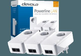 DEVOLO 9304 dLAN® 550 duo  Network Kit Powerline DLAN