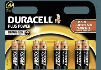 DURACELL 017764 Plus Power-AA Batterie AA