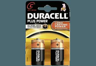 DURACELL 019089 Plus Power-C Batterie C
