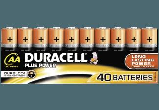 DURACELL 190159709 Plus PowerAA, 40er Pack Batterie AA