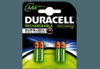 DURACELL 203822 B4 Staycharged Batterie AAA