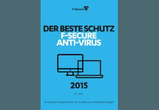 F-Secure Anti-Virus 2015 3PCs