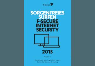 F-Secure Internet Security 2015 1PC Upgrade