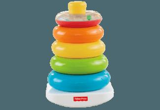 FISHER PRICE 71050 Farbring Pyramide Blau, Grün, Gelb, Orange