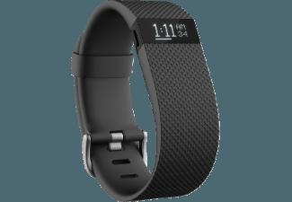FITBIT Charge HR Large Schwarz (Activity-Tracker)
