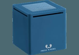 FRESH N REBEL Rockbox Cube Bluetooth Lautsprecher Indigo